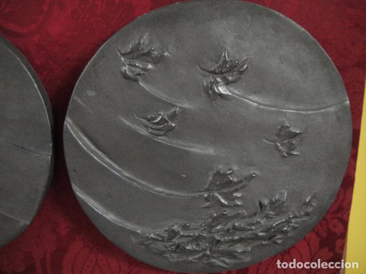Arte: Escultura de escayola con pátina de grafito: La tramuntana - Foto 3 - 192073902