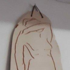Arte: LAMINA, TAMBIEN LLAMADO ESTELA, DE TERRACOTA DE 0;7CM DE GROSOR. SEGUNDA MITAD DEL XX. Lote 192077348