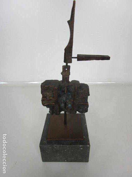 Arte: Escultura de Bronce Original -Antoni Clavé y Sanmartí (1913-2005) -Firmada y Numerada 4/6 Ejemplares - Foto 2 - 192468738