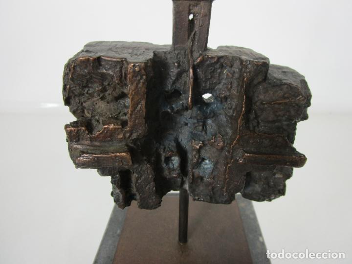 Arte: Escultura de Bronce Original -Antoni Clavé y Sanmartí (1913-2005) -Firmada y Numerada 4/6 Ejemplares - Foto 3 - 192468738