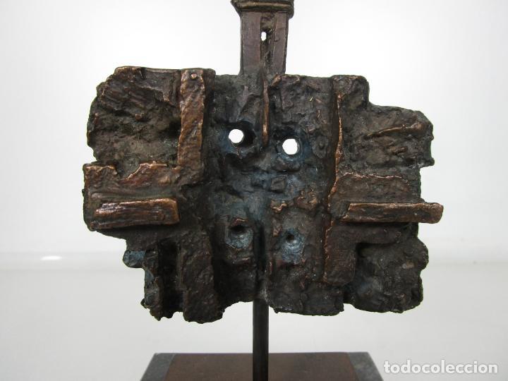 Arte: Escultura de Bronce Original -Antoni Clavé y Sanmartí (1913-2005) -Firmada y Numerada 4/6 Ejemplares - Foto 4 - 192468738