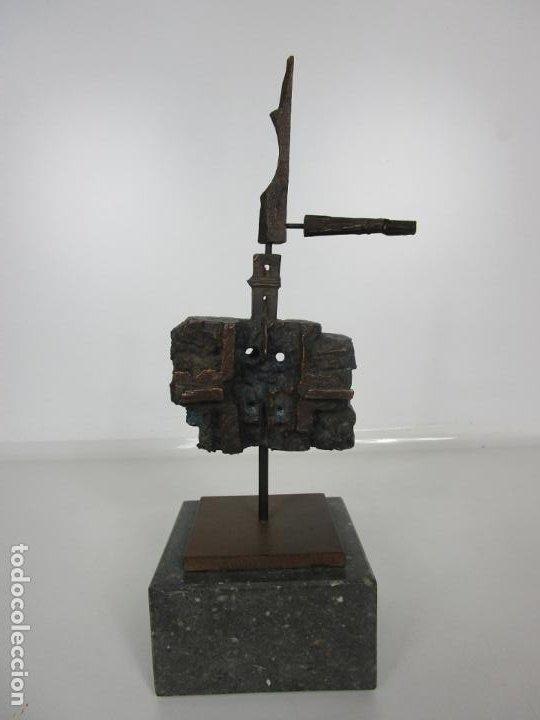 Arte: Escultura de Bronce Original -Antoni Clavé y Sanmartí (1913-2005) -Firmada y Numerada 4/6 Ejemplares - Foto 5 - 192468738