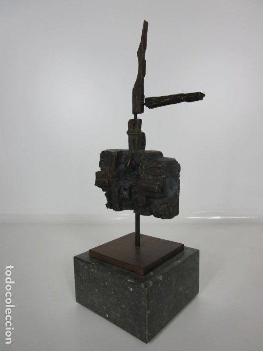 Arte: Escultura de Bronce Original -Antoni Clavé y Sanmartí (1913-2005) -Firmada y Numerada 4/6 Ejemplares - Foto 7 - 192468738