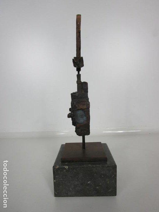 Arte: Escultura de Bronce Original -Antoni Clavé y Sanmartí (1913-2005) -Firmada y Numerada 4/6 Ejemplares - Foto 8 - 192468738