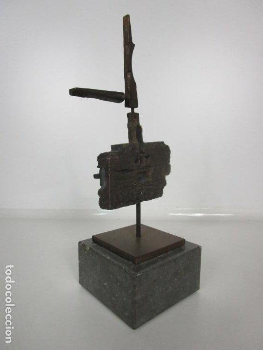 Arte: Escultura de Bronce Original -Antoni Clavé y Sanmartí (1913-2005) -Firmada y Numerada 4/6 Ejemplares - Foto 9 - 192468738