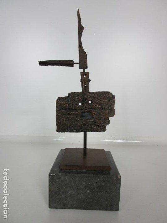 Arte: Escultura de Bronce Original -Antoni Clavé y Sanmartí (1913-2005) -Firmada y Numerada 4/6 Ejemplares - Foto 10 - 192468738