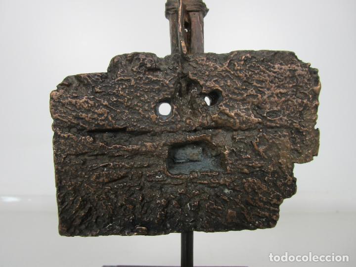 Arte: Escultura de Bronce Original -Antoni Clavé y Sanmartí (1913-2005) -Firmada y Numerada 4/6 Ejemplares - Foto 11 - 192468738