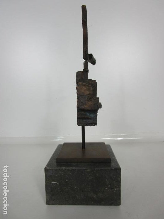 Arte: Escultura de Bronce Original -Antoni Clavé y Sanmartí (1913-2005) -Firmada y Numerada 4/6 Ejemplares - Foto 13 - 192468738