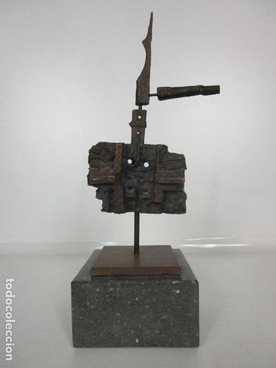Arte: Escultura de Bronce Original -Antoni Clavé y Sanmartí (1913-2005) -Firmada y Numerada 4/6 Ejemplares - Foto 14 - 192468738