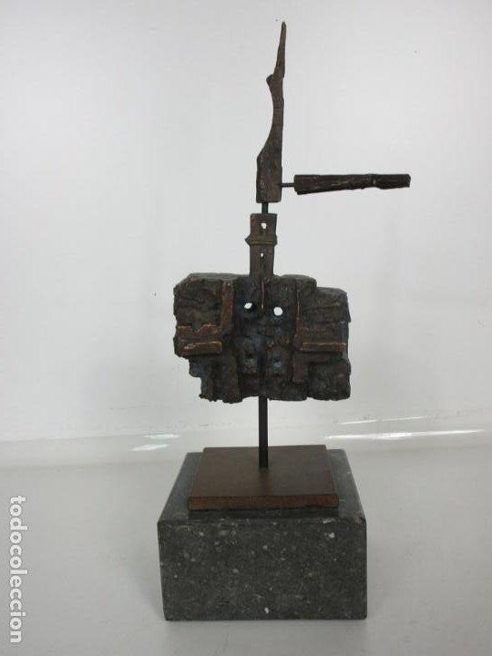 Arte: Escultura de Bronce Original -Antoni Clavé y Sanmartí (1913-2005) -Firmada y Numerada 4/6 Ejemplares - Foto 18 - 192468738