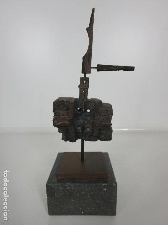 Arte: Escultura de Bronce Original -Antoni Clavé y Sanmartí (1913-2005) -Firmada y Numerada 4/6 Ejemplares - Foto 21 - 192468738