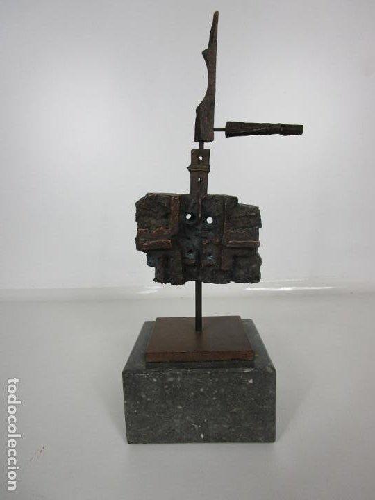 ESCULTURA DE BRONCE ORIGINAL -ANTONI CLAVÉ Y SANMARTÍ (1913-2005) -FIRMADA Y NUMERADA 4/6 EJEMPLARES (Arte - Escultura - Bronce)