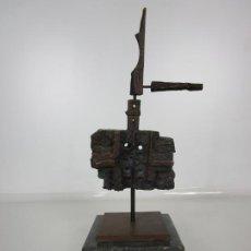 Arte: ESCULTURA DE BRONCE ORIGINAL -ANTONI CLAVÉ Y SANMARTÍ (1913-2005) -FIRMADA Y NUMERADA 4/6 EJEMPLARES. Lote 192468738