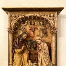 Arte: NACIMIENTO DE LA VELA (ARTE RELIGIOSO). Lote 192659693