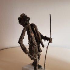Arte: ESCULTURA EN ESTAÑO FUNDIDO FIRMADA DURÁN EN EL AÑO 1977. Lote 193005048