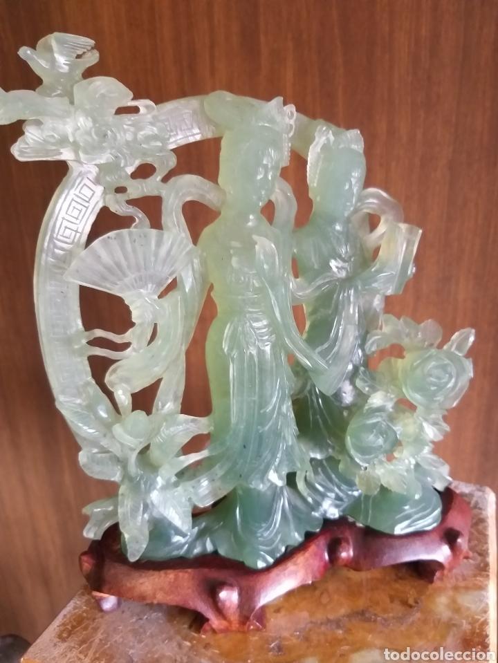 TALLA DE JADE (Arte - Escultura - Piedra)