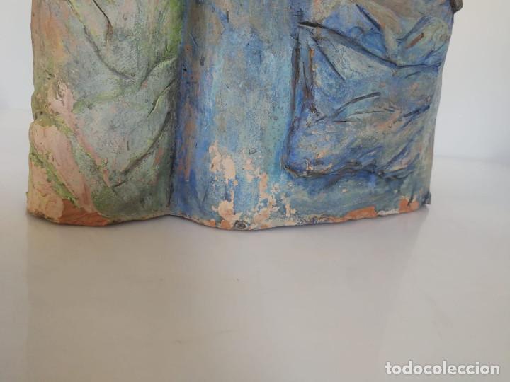 Arte: Escultura de terracota busto niño Firmada y fechada 1996 - Foto 15 - 193761676