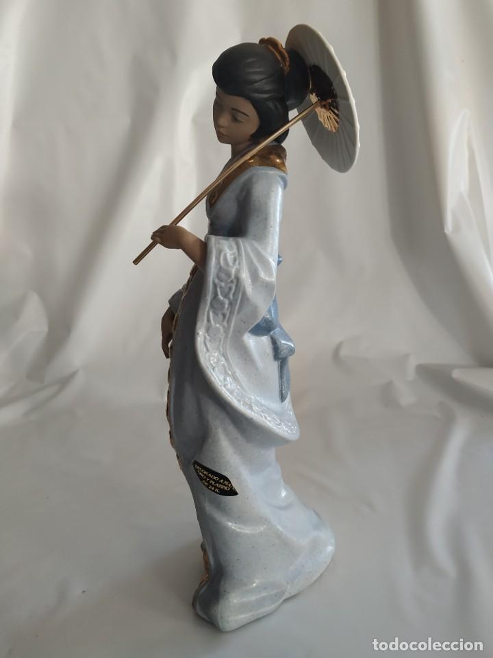 Arte: Escultura Gueisha de Porcelana - Foto 2 - 194003060