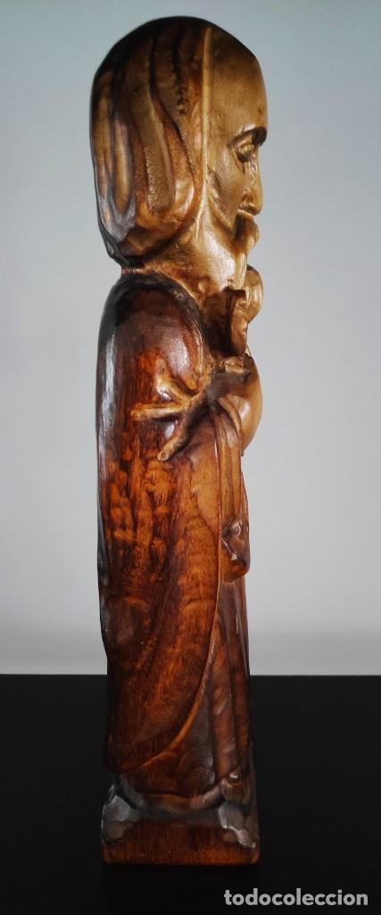 Arte: Talla de madera San Pedro - Foto 2 - 194143691