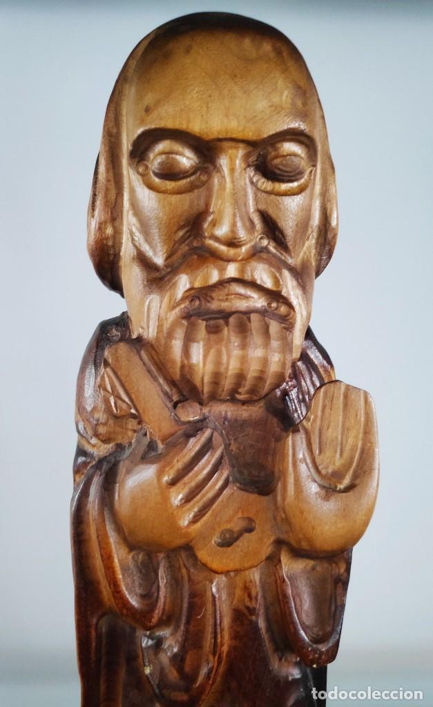Arte: Talla de madera San Pedro - Foto 4 - 194143691