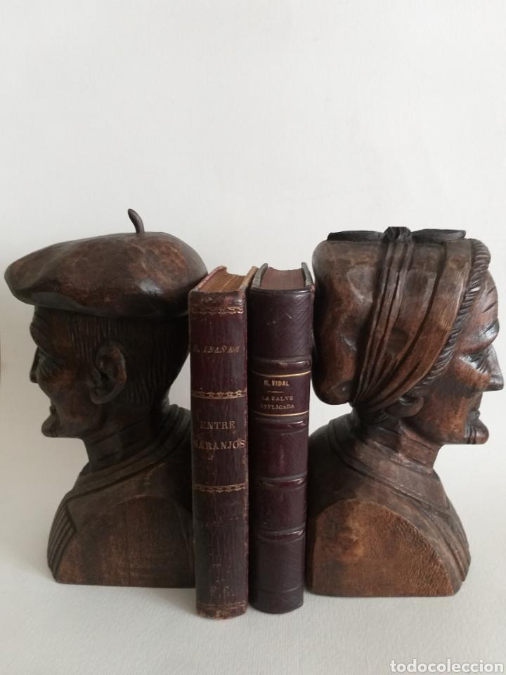 Arte: Apollalibros de ancianos tallados de José Alberdi - Foto 3 - 194168820