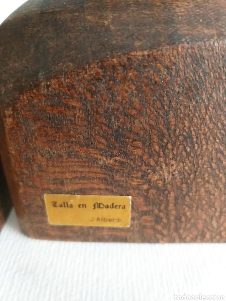 Arte: Apollalibros de ancianos tallados de José Alberdi - Foto 4 - 194168820