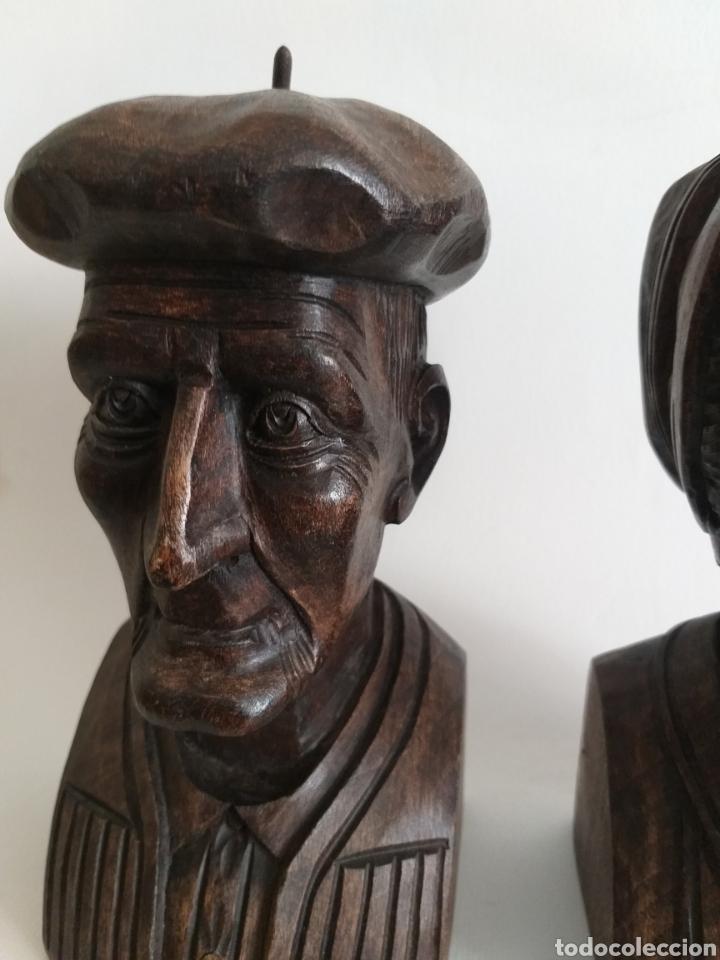 Arte: Apollalibros de ancianos tallados de José Alberdi - Foto 5 - 194168820