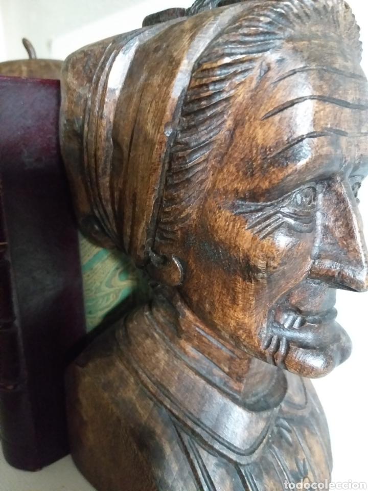 Arte: Apollalibros de ancianos tallados de José Alberdi - Foto 6 - 194168820
