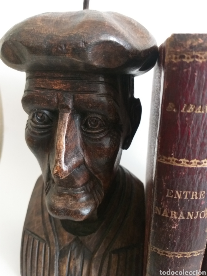 Arte: Apollalibros de ancianos tallados de José Alberdi - Foto 7 - 194168820