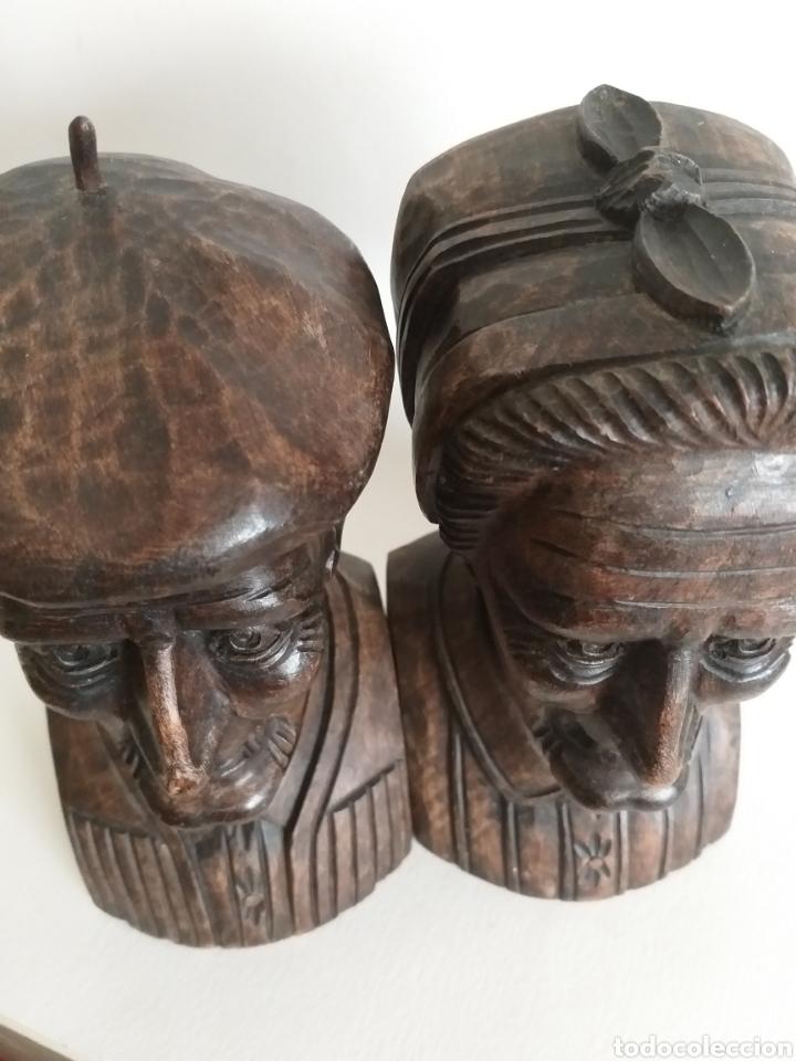 Arte: Apollalibros de ancianos tallados de José Alberdi - Foto 8 - 194168820