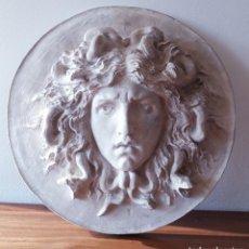 Arte: ESCUELA ITALIANA. MEDUSA. FINALES DEL SIGLO XIX. ESCAYOLA. Lote 194267715