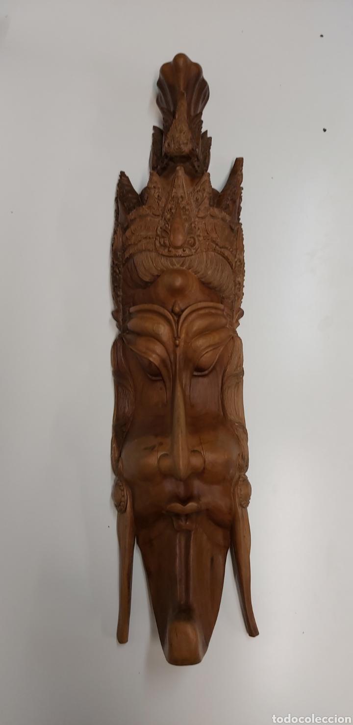 GRAN MASCARA 80CM MADERA BALI (Arte - Escultura - Madera)
