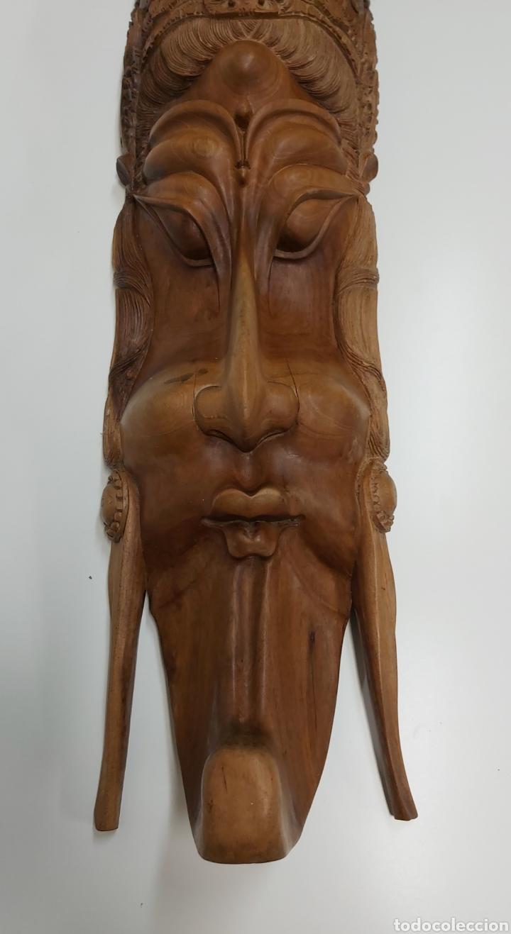 Arte: Gran mascara 80cm Madera Bali - Foto 2 - 194270535