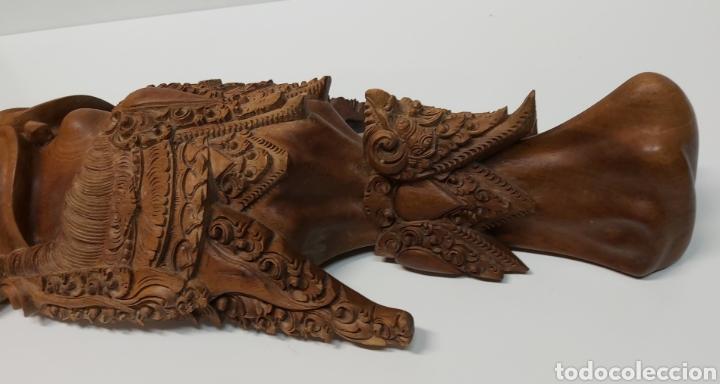 Arte: Gran mascara 80cm Madera Bali - Foto 4 - 194270535