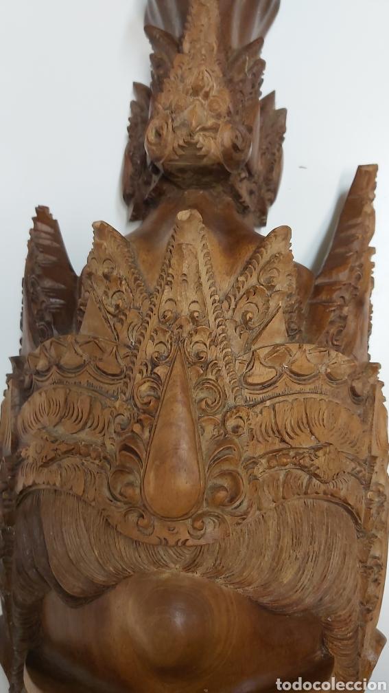 Arte: Gran mascara 80cm Madera Bali - Foto 6 - 194270535