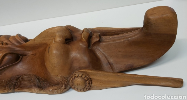 Arte: Gran mascara 80cm Madera Bali - Foto 8 - 194270535