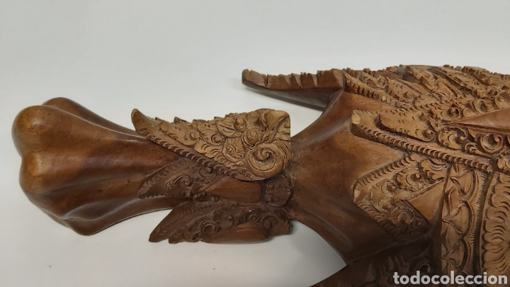 Arte: Gran mascara 80cm Madera Bali - Foto 9 - 194270535