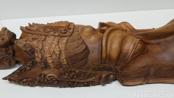 Arte: Gran mascara 80cm Madera Bali - Foto 11 - 194270535