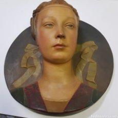 Arte: BUSTO EN TERRACOTA. Lote 194293567