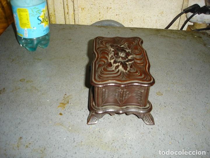 Arte: caja selva negra siglo 19 joyero ver fotos - Foto 2 - 194322016