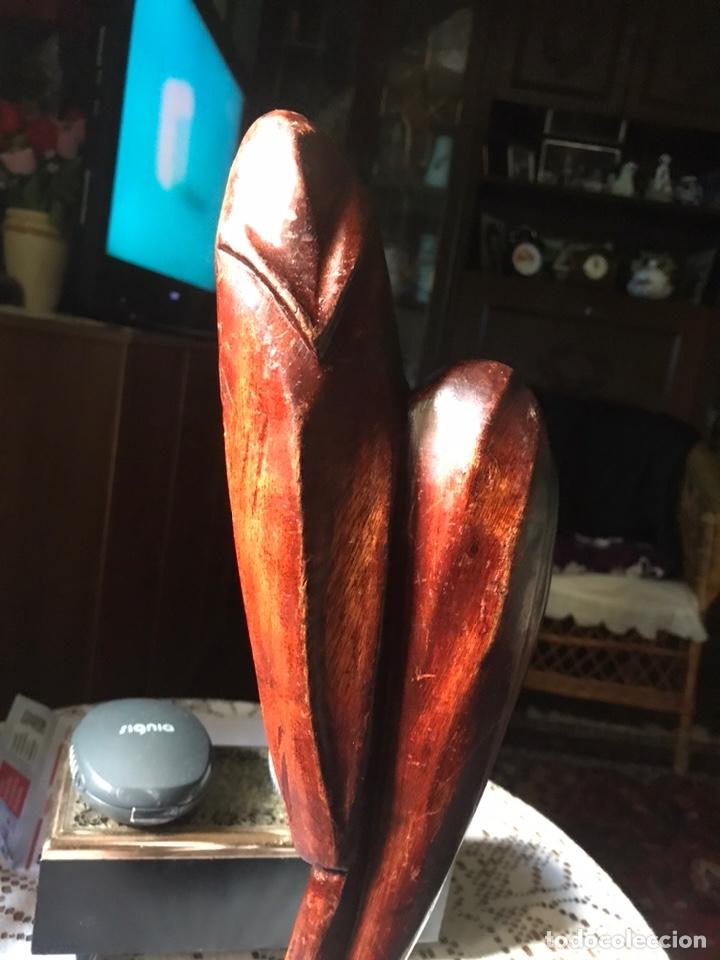 Arte: Escultura de madera de caoba, influencias Africanas de 1991 - Foto 8 - 194393410