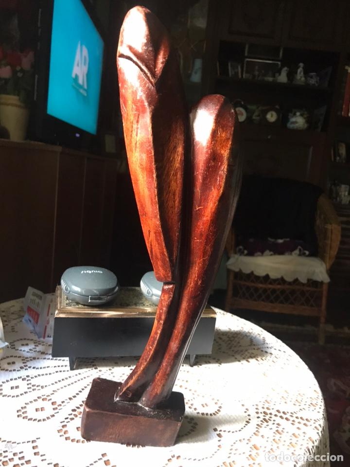 Arte: Escultura de madera de caoba, influencias Africanas de 1991 - Foto 9 - 194393410