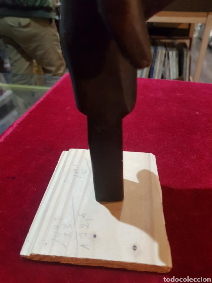 Arte: Antigua talla africana u objeto bella patina - Foto 11 - 194521221