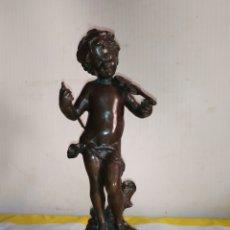 Arte: IMPORTANTE ESCULTURA FRANCESA EN BRONCE SIGLO XIX. Lote 194681250
