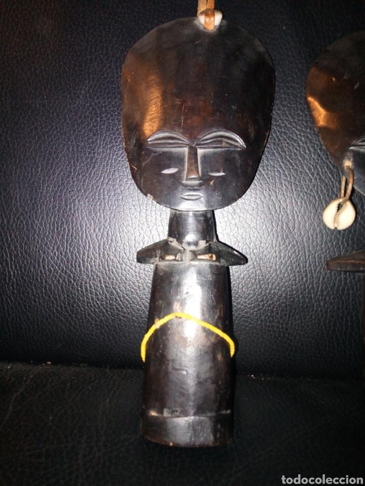 Arte: Pareja figuras africanas ebano - Foto 4 - 194702481