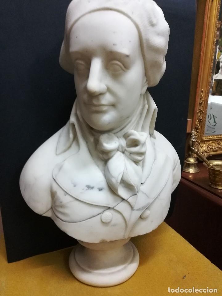 Arte: Busto de un politico frances - Foto 2 - 194721982