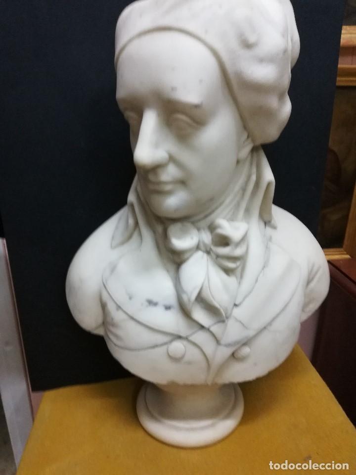 Arte: Busto de un politico frances - Foto 3 - 194721982