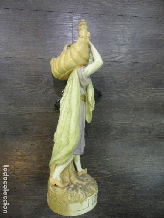 Arte: PERSONAJE DE PORCELANA CON JARRA - Foto 3 - 194722817