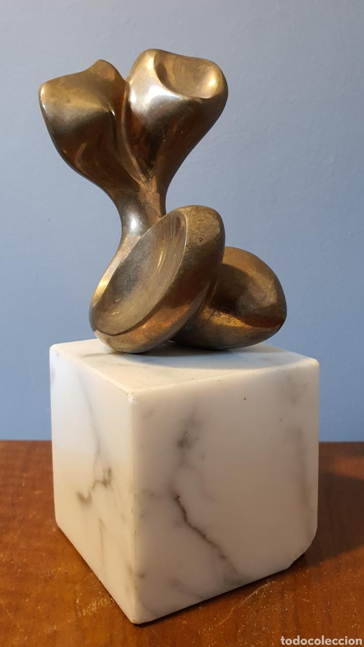 AGUSTÍN ALAMAN, PRECIOSA ESCULTURA BRONCE, TORSO FEMENINO, NUMERADA Y FIRMADA. (Arte - Escultura - Bronce)