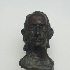 Arte: BRONCE CABEZA DALÍ NUMERADA DEL ARTISTA ROLLÁN. Lote 194945791